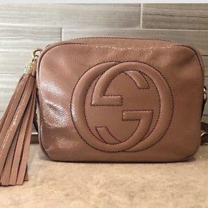 30895294b332 Gucci Bags   Cipria Blush Soho Disco Authentic   Poshmark